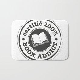 Certifié 100% Book Addict Bath Mat