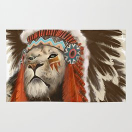 Lion Chief Rug