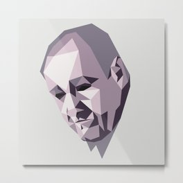 Tony Soprano Metal Print