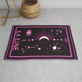 The Moon or La Lune Neon Edition Rug