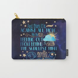 These Broken Stars - Smile Carry-All Pouch