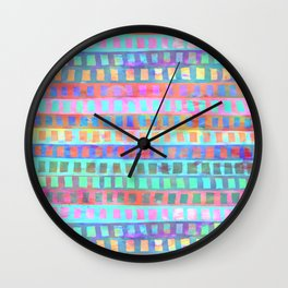 Tribal Pattern 03 Wall Clock