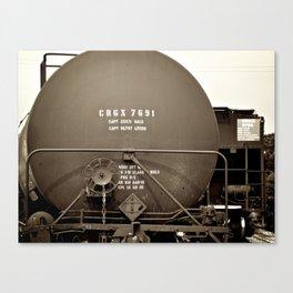 The Depot Canvas Print