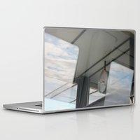 copenhagen Laptop & iPad Skins featuring Copenhagen Metro reflection by RMK Creative