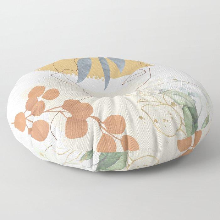 Line in Nature II Floor Pillow