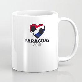 Paraguay Soccer Shirt 2016 Coffee Mug
