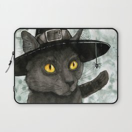 Witch's Familiar Laptop Sleeve