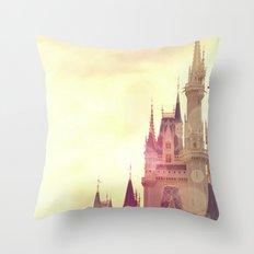 Disney Cinderella Castle Throw Pillow