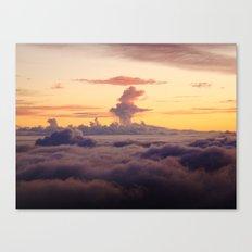 HALEAKALA'S CLOUDS Canvas Print