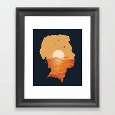 Caved In Framed Art Print