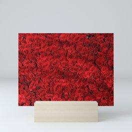 Romantic Red Roses Mini Art Print