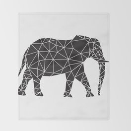 Elephant Angles (Help Save Endangered Elephants) Throw Blanket