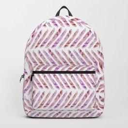 Summer Day Herringbone Backpack