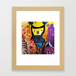 Good Energy Framed Art Print