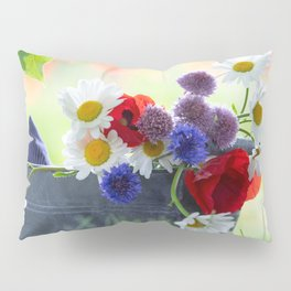 Flower potpourie from the cottage garden Pillow Sham