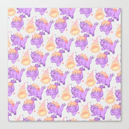 BEHEMOTH PATTERN Canvas Print
