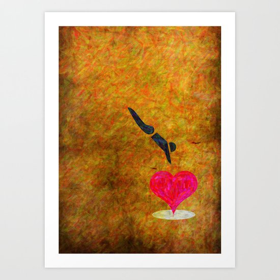 Jumpin' Love Art Print