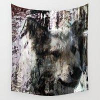 best friend Wall Tapestries featuring Best Friend by Artist TLynn Brentnall