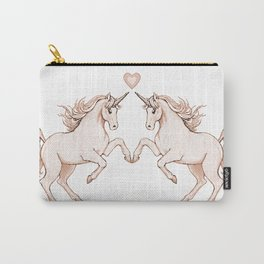 unicorn love Carry-All Pouch