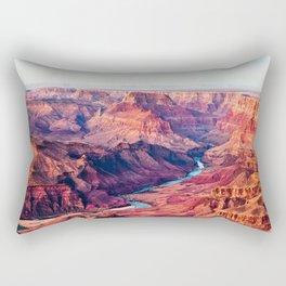 Grand Canyon Park USA Arizona Nature canyons Scenery river Canyon landscape photography Rivers Rectangular Pillow