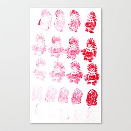Yummy Gummy Canvas Print