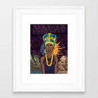 "lebron Framed Art Prints featuring ""Neffortlessly"" by SaintCastro"