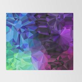 Crazy Crystals Throw Blanket