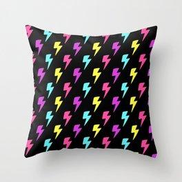 Lightning Bolts Throw Pillow