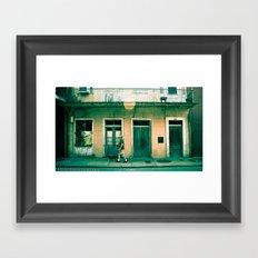 French Quater Framed Art Print