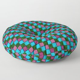 Bodacious Island Paradise and Lush Meadow Patchwork Floor Pillow