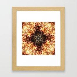 Kaleidoscope - Wood Framed Art Print