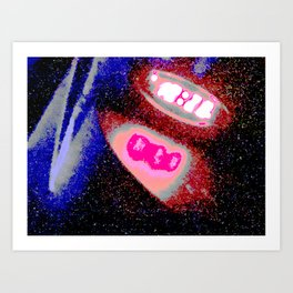 Space Time Art Print