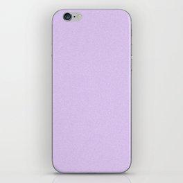 Dense Melange - White and Light Violet iPhone Skin