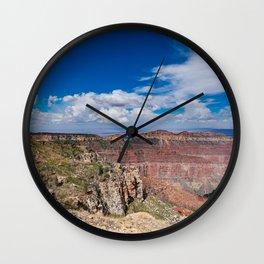 North_Rim Grand_Canyon, Arizona - I Wall Clock