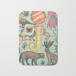 'J' collection Bath Mat