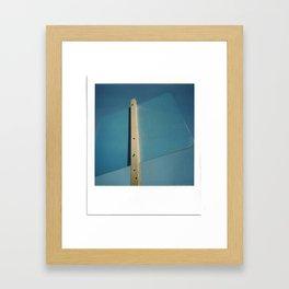 Blue Sky Sign Framed Art Print