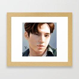 Mngyu Seventeen Framed Art Print