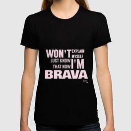 BRAVA× T-shirt
