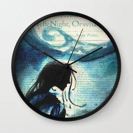 Twelfth Night Viola Wall Clock
