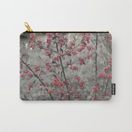 Red Wild Berries in Oakland Carry-All Pouch