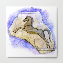 Egyptian horse Metal Print