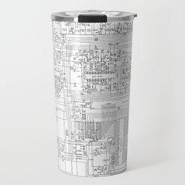 elektrik mankind  (A7 B0111) Travel Mug