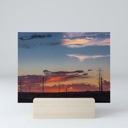 Sunset Rio Rancho Mini Art Print