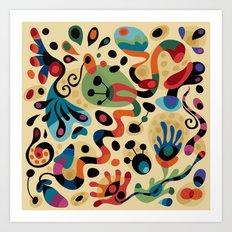 Wobbly Life Art Print
