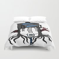 piano Duvet Covers featuring piano by JBLITTLEMONSTERS