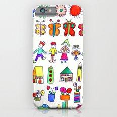 children at home iPhone 6s Slim Case