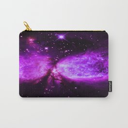 Space Galaxy : A star is born Purple Carry-All Pouch