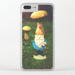 Mr. Gnome Clear iPhone Case
