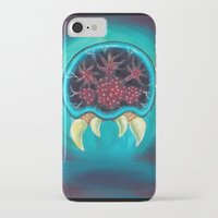 metroid iPhone & iPod Cases featuring Metroid by Katie Clark Art