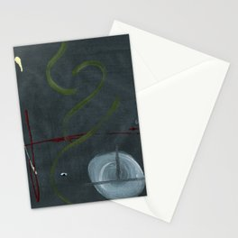 Overlooking Outer Space Stationery Cards